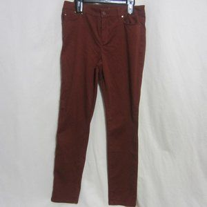 WOMEN'S PLATINUM JEGGING BY CHICO'S, SZ 1, BROWN